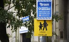 El Municipio puso en marcha 135 corredores escolares seguros en las escuelas