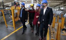 Cafiero, Tolosa Paz y Cascallares lanzaron en Alte Brown un plan de empleo para jóvenes