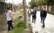 """Cascallares: """"Seguimos pavimentando 600 cuadras en las localidades y los barrios"""""""