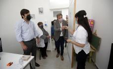 Cascallares y Kreplak recorrieron el nuevo Centro de Salud de Almirante Brown