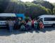 Visita de vecinos a Punta Lara